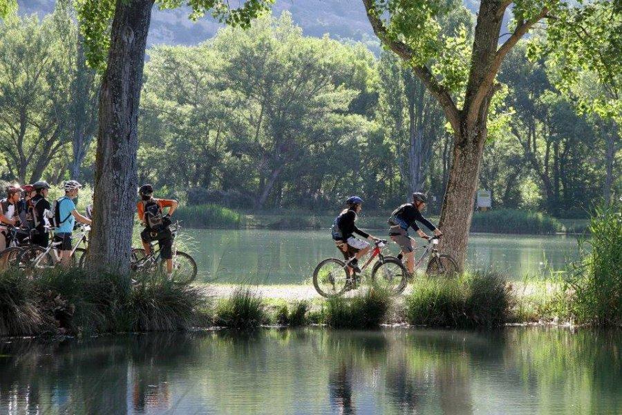 Cyclotourisme à Gréoux les Bains