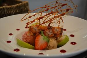 Dessert Restaurant Les Alpes Gréoux 1200