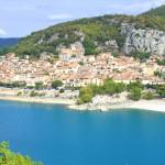 Gorges du Verdon village Bauduen Hotel des Alpes Gréoux les Bains