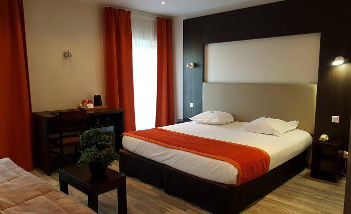 CHAMBRE SUPERIEURE Hôtel Spa Les Alpes Gréoux