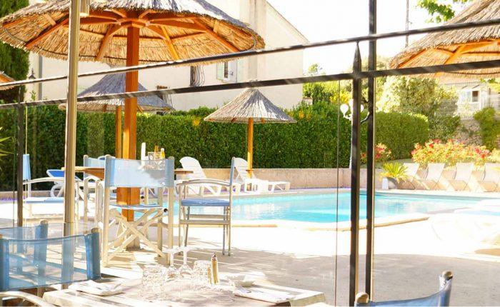 Restaurant piscine Les Alpes Gréoux