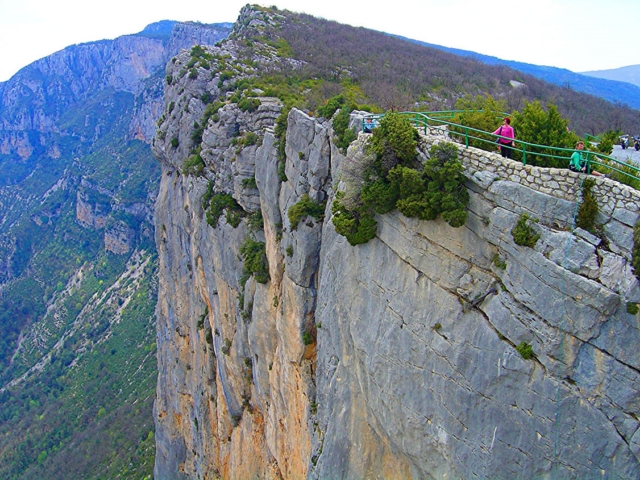 Falaise Grand Canyon Gorges du Verdon