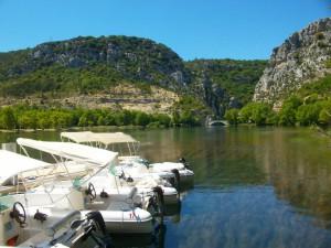 Lac d'Esparron Basses Gorges du Verdon en Bateau