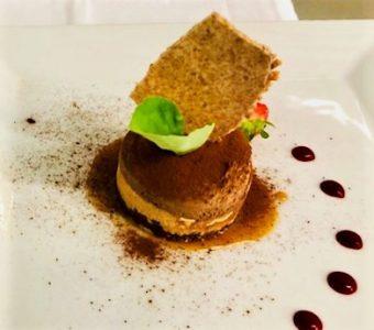Croustillant caramel chocolat restaurant les alpes gréoux 1