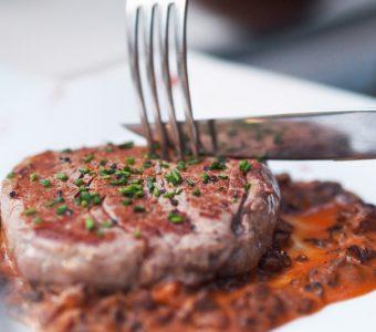 Filet de boeuf Restaurant les Alpes Gréoux